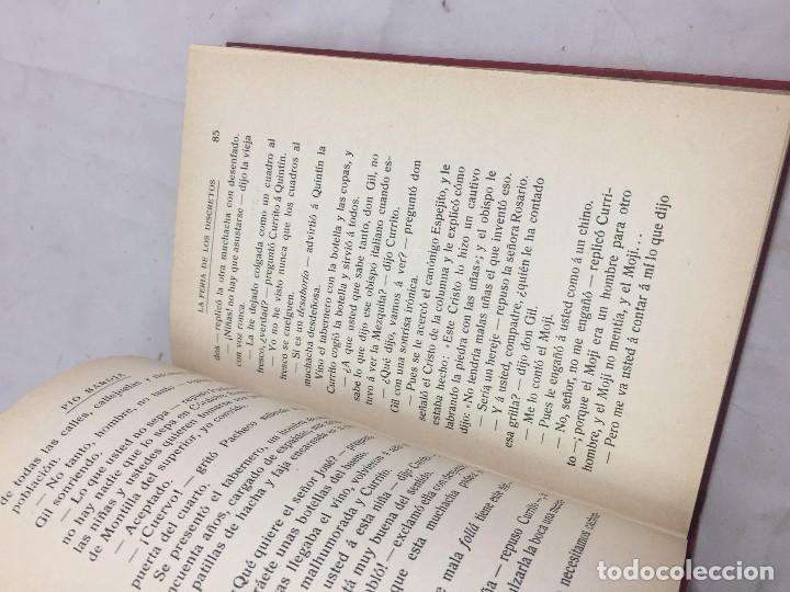 Libros antiguos: La feria de los Discretos Pío Baroja Generación 98 1905 Francisco Beltrán 1ª edición. - Foto 3 - 125669663