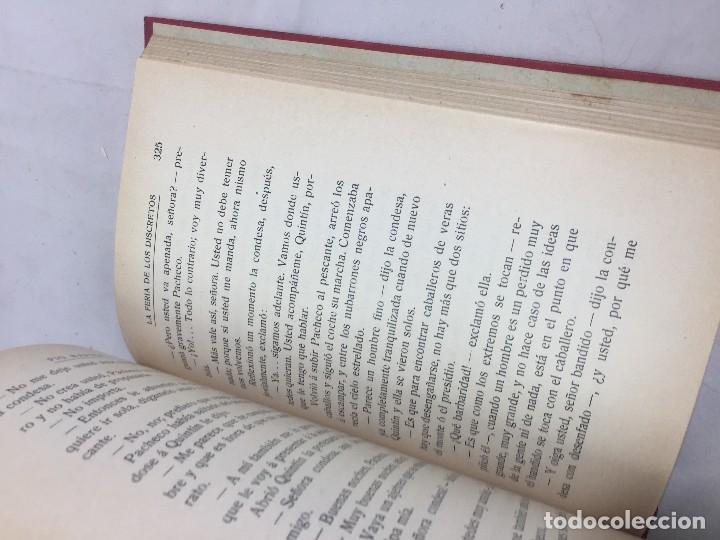 Libros antiguos: La feria de los Discretos Pío Baroja Generación 98 1905 Francisco Beltrán 1ª edición. - Foto 6 - 125669663