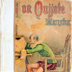 Libros antiguos: DON QUIJOTE DE LA MANCHA-1A Y 2A PARTE-ED.SATURNINO CALLEJA, MADRID 1905-ILUSTRADO. Lote 125867467