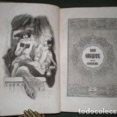 Libros antiguos: CERVANTES: EL INGENIOSO HIDALGO DON QUIJOTE DE LA MANCHA II. BARCELONA, ANTONIO BERGNES Y CÍA.1840. Lote 125913287