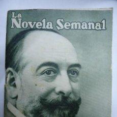 Libros antiguos: EL HOMBRE QUE LO SABÍA TODO 1921 MANUEL LINARES RIVAS ILUSTRA FEDERICO RIBAS. Lote 126130303