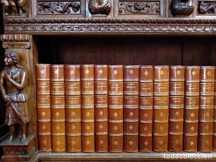 Libros antiguos: BIBLIOTECA DE AUTORES ESPAÑOLES - DESDE LA FORMACIÓN DEL LENGUAJE HASTA NUESTROS DÍAS - 1846 - - Foto 2 - 126165459