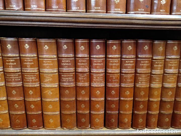 Libros antiguos: BIBLIOTECA DE AUTORES ESPAÑOLES - DESDE LA FORMACIÓN DEL LENGUAJE HASTA NUESTROS DÍAS - 1846 - - Foto 6 - 126165459