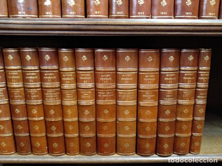 Libros antiguos: BIBLIOTECA DE AUTORES ESPAÑOLES - DESDE LA FORMACIÓN DEL LENGUAJE HASTA NUESTROS DÍAS - 1846 - - Foto 7 - 126165459