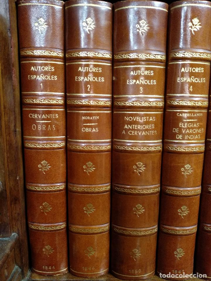 Libros antiguos: BIBLIOTECA DE AUTORES ESPAÑOLES - DESDE LA FORMACIÓN DEL LENGUAJE HASTA NUESTROS DÍAS - 1846 - - Foto 8 - 126165459