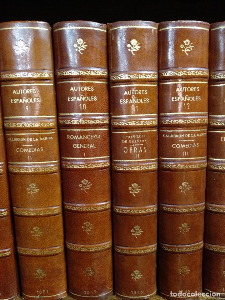 Libros antiguos: BIBLIOTECA DE AUTORES ESPAÑOLES - DESDE LA FORMACIÓN DEL LENGUAJE HASTA NUESTROS DÍAS - 1846 - - Foto 10 - 126165459
