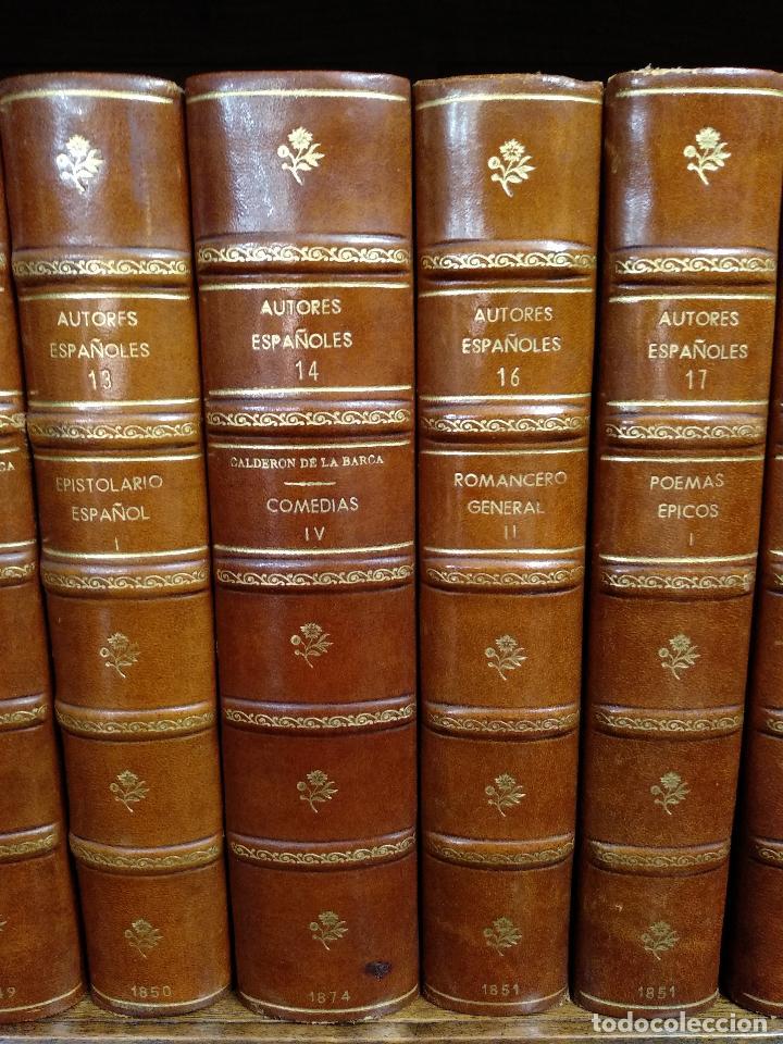Libros antiguos: BIBLIOTECA DE AUTORES ESPAÑOLES - DESDE LA FORMACIÓN DEL LENGUAJE HASTA NUESTROS DÍAS - 1846 - - Foto 11 - 126165459