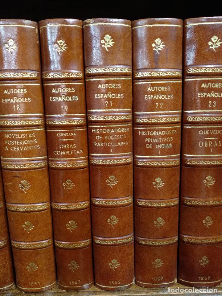 Libros antiguos: BIBLIOTECA DE AUTORES ESPAÑOLES - DESDE LA FORMACIÓN DEL LENGUAJE HASTA NUESTROS DÍAS - 1846 - - Foto 12 - 126165459