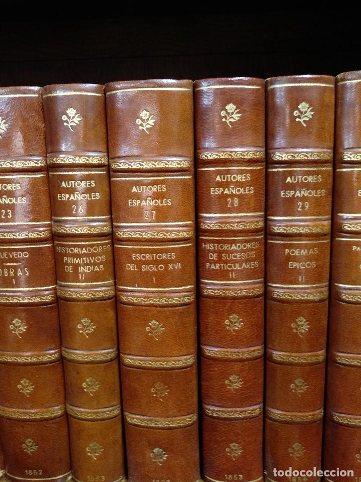 Libros antiguos: BIBLIOTECA DE AUTORES ESPAÑOLES - DESDE LA FORMACIÓN DEL LENGUAJE HASTA NUESTROS DÍAS - 1846 - - Foto 13 - 126165459