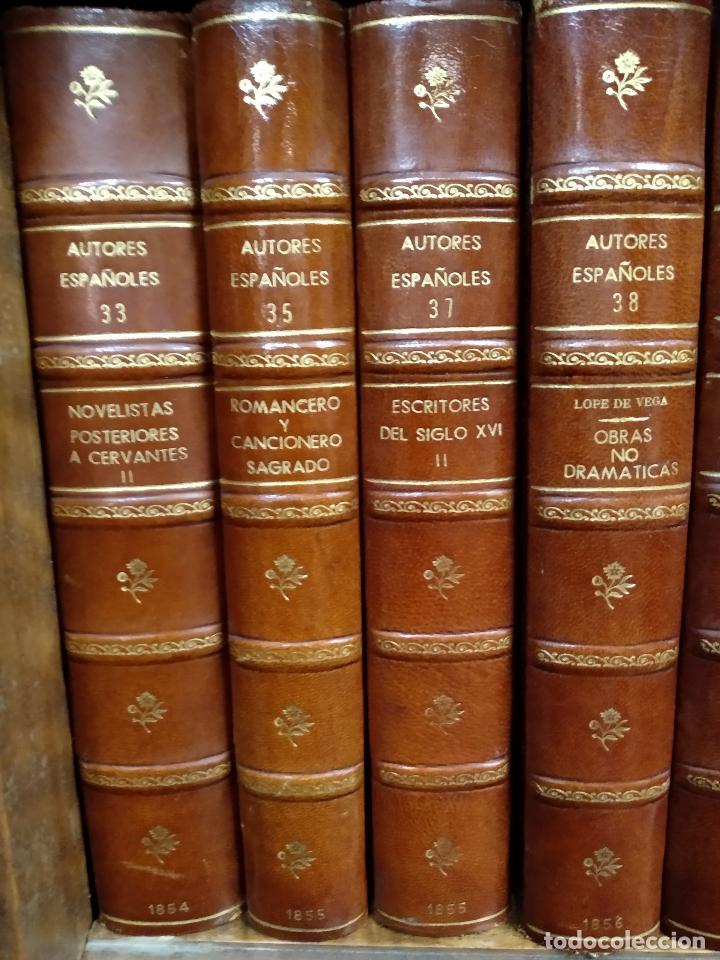 Libros antiguos: BIBLIOTECA DE AUTORES ESPAÑOLES - DESDE LA FORMACIÓN DEL LENGUAJE HASTA NUESTROS DÍAS - 1846 - - Foto 15 - 126165459