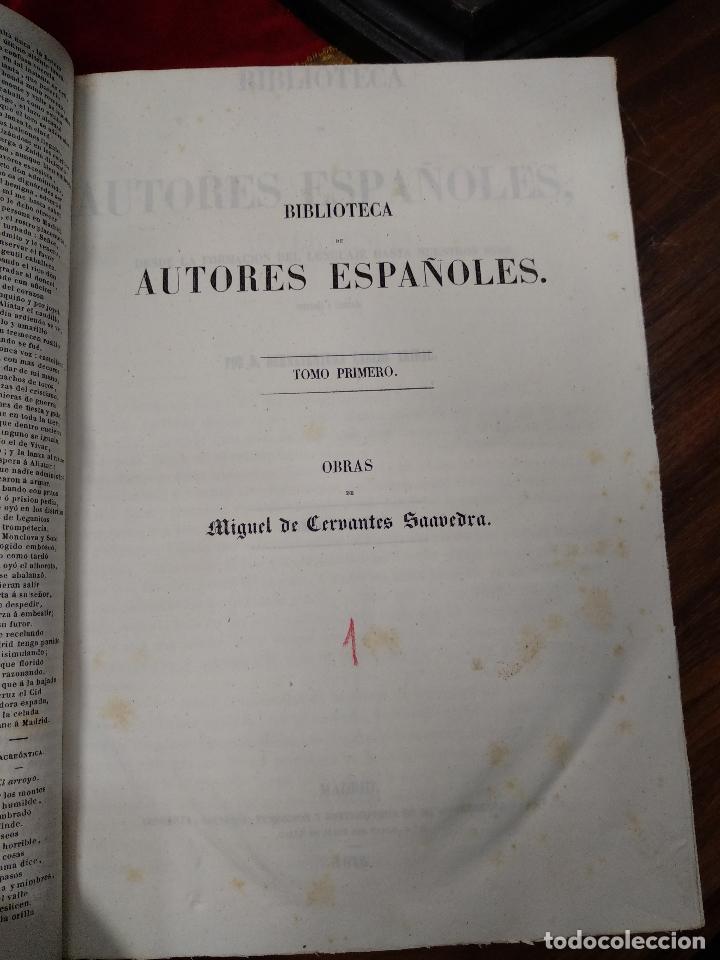 Libros antiguos: BIBLIOTECA DE AUTORES ESPAÑOLES - DESDE LA FORMACIÓN DEL LENGUAJE HASTA NUESTROS DÍAS - 1846 - - Foto 24 - 126165459