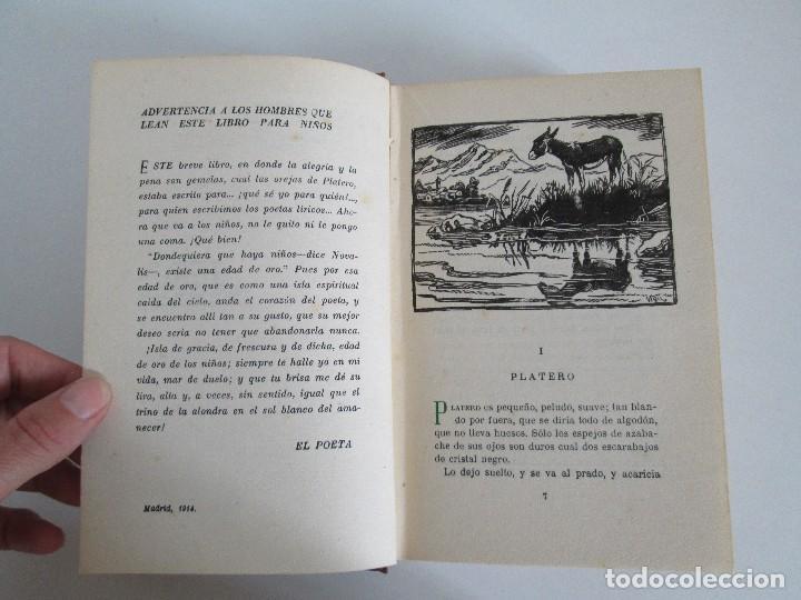 Libros antiguos: JUAN RAMON JIMENEZ. PLATERO Y YO. ESTE LIBRO PERTENECIO AL MINISTRO GREGORIO LOPEZ BRAVO. - Foto 8 - 126219519