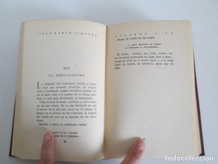 Libros antiguos: JUAN RAMON JIMENEZ. PLATERO Y YO. ESTE LIBRO PERTENECIO AL MINISTRO GREGORIO LOPEZ BRAVO. - Foto 11 - 126219519