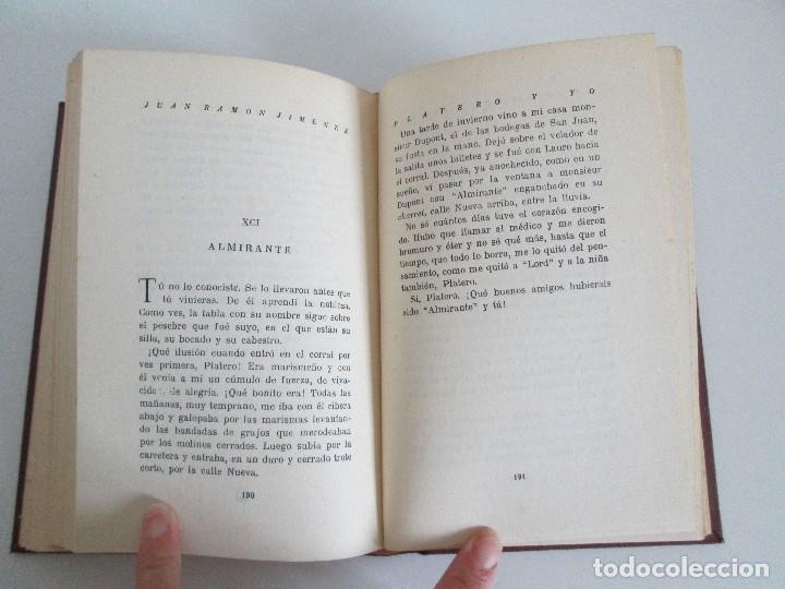 Libros antiguos: JUAN RAMON JIMENEZ. PLATERO Y YO. ESTE LIBRO PERTENECIO AL MINISTRO GREGORIO LOPEZ BRAVO. - Foto 12 - 126219519