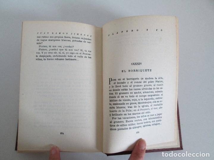 Libros antiguos: JUAN RAMON JIMENEZ. PLATERO Y YO. ESTE LIBRO PERTENECIO AL MINISTRO GREGORIO LOPEZ BRAVO. - Foto 13 - 126219519