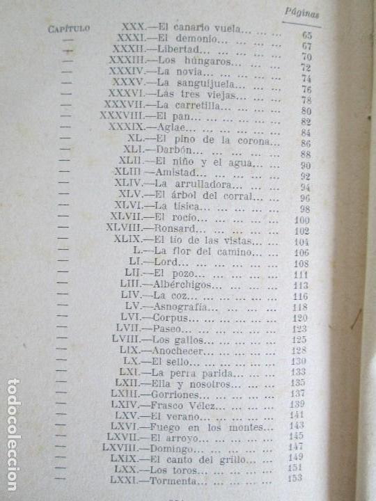 Libros antiguos: JUAN RAMON JIMENEZ. PLATERO Y YO. ESTE LIBRO PERTENECIO AL MINISTRO GREGORIO LOPEZ BRAVO. - Foto 15 - 126219519