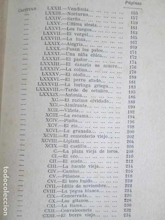 Libros antiguos: JUAN RAMON JIMENEZ. PLATERO Y YO. ESTE LIBRO PERTENECIO AL MINISTRO GREGORIO LOPEZ BRAVO. - Foto 16 - 126219519