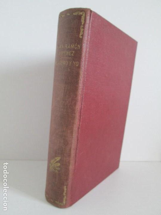 JUAN RAMON JIMENEZ. PLATERO Y YO. ESTE LIBRO PERTENECIO AL MINISTRO GREGORIO LOPEZ BRAVO. (Libros antiguos (hasta 1936), raros y curiosos - Literatura - Narrativa - Clásicos)
