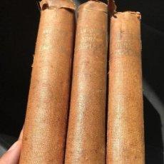 Libros antiguos: LOTE LIBROS OBRAS COMPLETAS CAMPOAMOR 3 TOMOS SOPENA. Lote 126241543