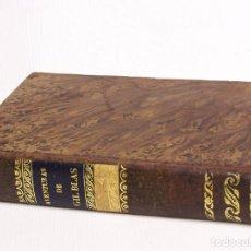 Libros antiguos: HISTORIA DE GIL BLAS DE SANTILLANA.TOMO III Y IV. BARCELONA 1830 . Lote 126298811