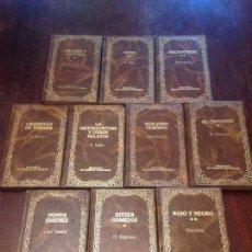 Libros antiguos: LOTE DE LIBROS CLÁSICOS . . Lote 126350863