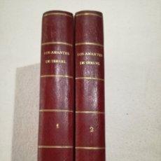 Libros antiguos: LOS AMANTES DE TERUEL, MANUEL FERNÁNDEZ. Lote 126429884