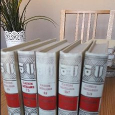 Libros antiguos: OBRA COMPLETA DE LOPE DE VEGA EN LA COL. CLASICOS CASTELLANOS. ED. ESPASA, AÑOS 60. . Lote 126882271
