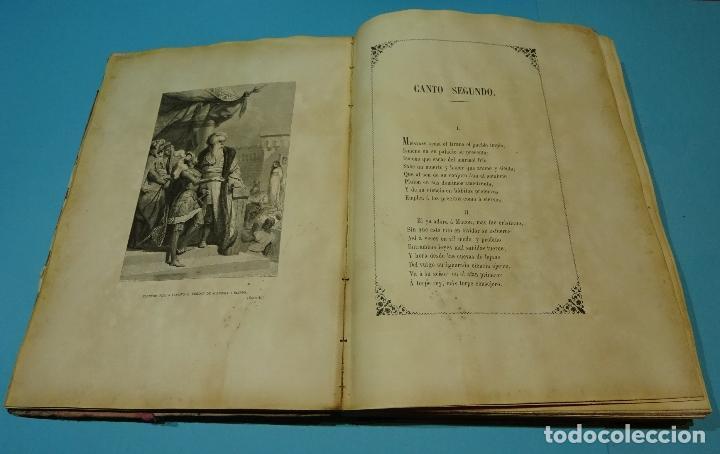 Libros antiguos: LA JERUSALEM LIBERTADA DE TORCUATO TASSO. PUESTA EN VERSO POR TTE.GRAL. MARQUÉS DE LA PEZUELA. 1855 - Foto 6 - 126888943
