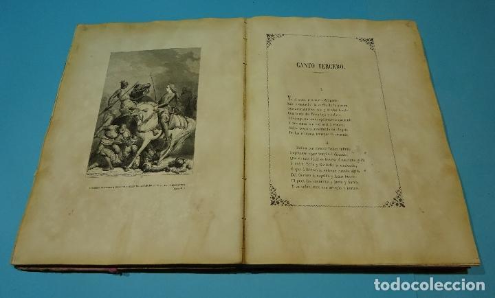 Libros antiguos: LA JERUSALEM LIBERTADA DE TORCUATO TASSO. PUESTA EN VERSO POR TTE.GRAL. MARQUÉS DE LA PEZUELA. 1855 - Foto 8 - 126888943