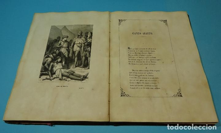 Libros antiguos: LA JERUSALEM LIBERTADA DE TORCUATO TASSO. PUESTA EN VERSO POR TTE.GRAL. MARQUÉS DE LA PEZUELA. 1855 - Foto 11 - 126888943