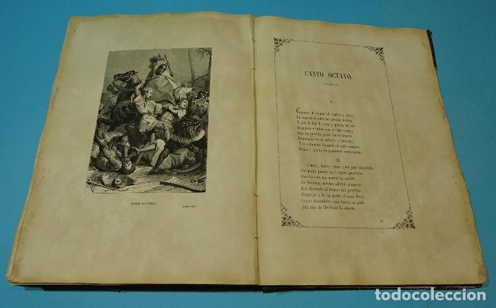 Libros antiguos: LA JERUSALEM LIBERTADA DE TORCUATO TASSO. PUESTA EN VERSO POR TTE.GRAL. MARQUÉS DE LA PEZUELA. 1855 - Foto 16 - 126888943