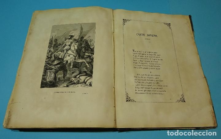 Libros antiguos: LA JERUSALEM LIBERTADA DE TORCUATO TASSO. PUESTA EN VERSO POR TTE.GRAL. MARQUÉS DE LA PEZUELA. 1855 - Foto 18 - 126888943