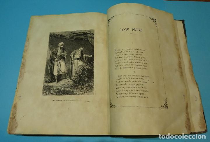 Libros antiguos: LA JERUSALEM LIBERTADA DE TORCUATO TASSO. PUESTA EN VERSO POR TTE.GRAL. MARQUÉS DE LA PEZUELA. 1855 - Foto 20 - 126888943