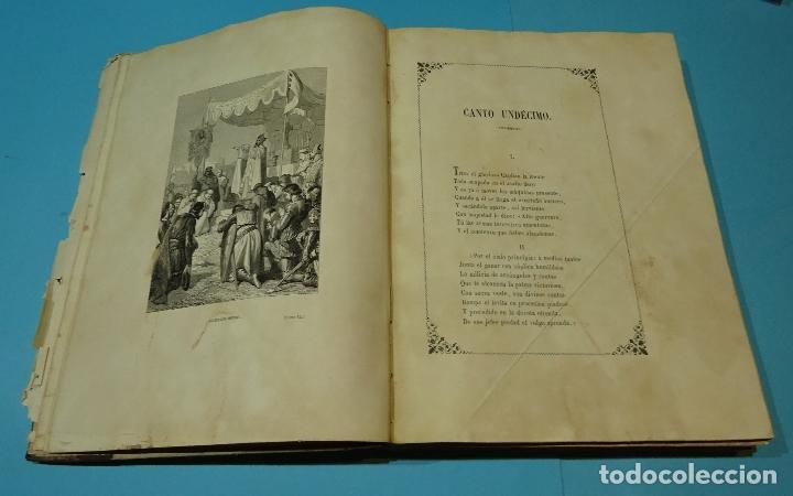 Libros antiguos: LA JERUSALEM LIBERTADA DE TORCUATO TASSO. PUESTA EN VERSO POR TTE.GRAL. MARQUÉS DE LA PEZUELA. 1855 - Foto 23 - 126888943
