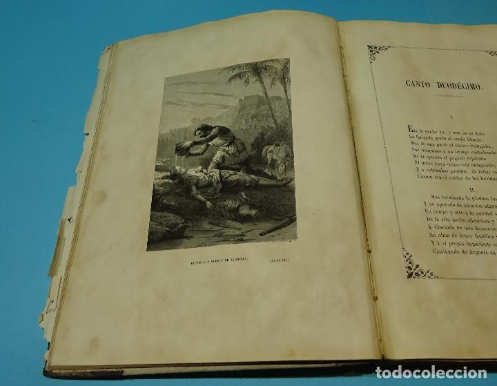 Libros antiguos: LA JERUSALEM LIBERTADA DE TORCUATO TASSO. PUESTA EN VERSO POR TTE.GRAL. MARQUÉS DE LA PEZUELA. 1855 - Foto 25 - 126888943