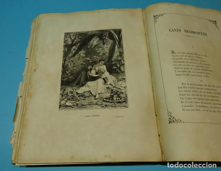 Libros antiguos: LA JERUSALEM LIBERTADA DE TORCUATO TASSO. PUESTA EN VERSO POR TTE.GRAL. MARQUÉS DE LA PEZUELA. 1855 - Foto 32 - 126888943