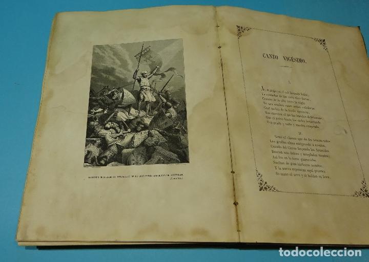 Libros antiguos: LA JERUSALEM LIBERTADA DE TORCUATO TASSO. PUESTA EN VERSO POR TTE.GRAL. MARQUÉS DE LA PEZUELA. 1855 - Foto 36 - 126888943