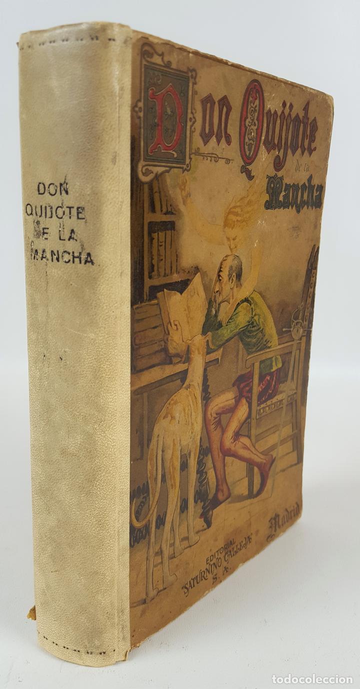 DON QUIJOTE DE LA MANCHA. MIGUEL CERVANTES. EDIT SATURNINO CALLEJA. MADRID. 1876. (Libros antiguos (hasta 1936), raros y curiosos - Literatura - Narrativa - Clásicos)