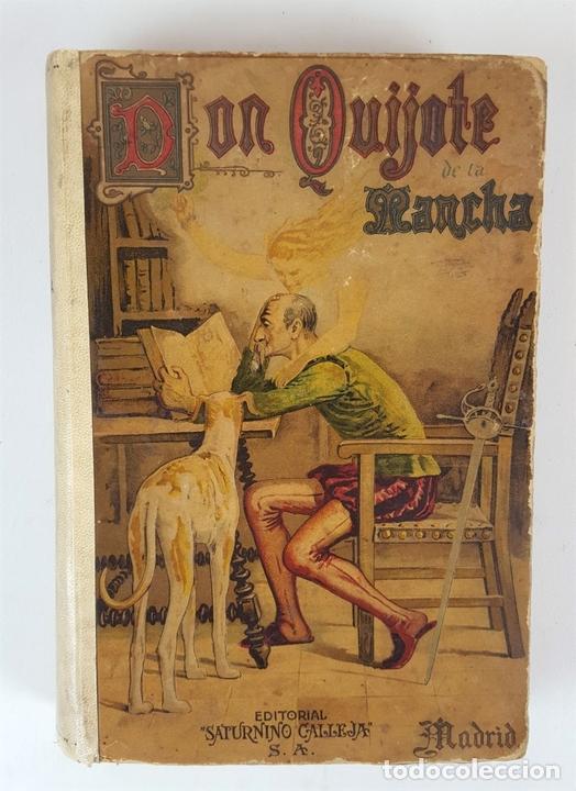 Libros antiguos: DON QUIJOTE DE LA MANCHA. MIGUEL CERVANTES. EDIT SATURNINO CALLEJA. MADRID. 1876. - Foto 2 - 127333139
