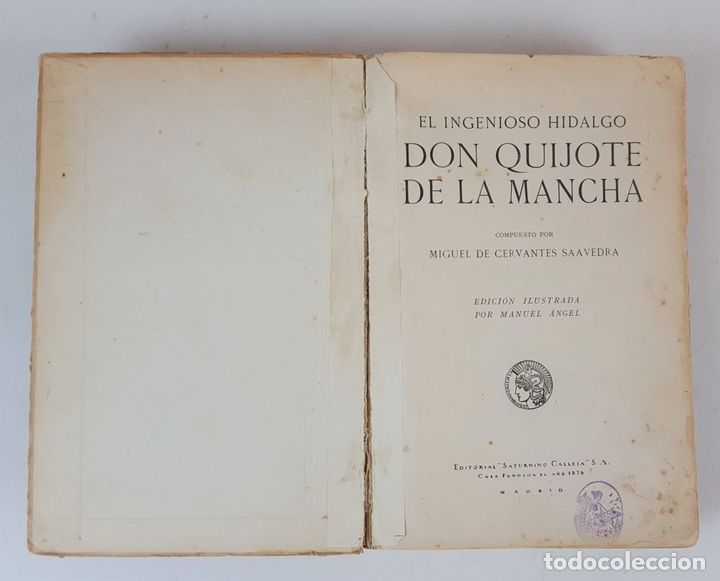Libros antiguos: DON QUIJOTE DE LA MANCHA. MIGUEL CERVANTES. EDIT SATURNINO CALLEJA. MADRID. 1876. - Foto 3 - 127333139
