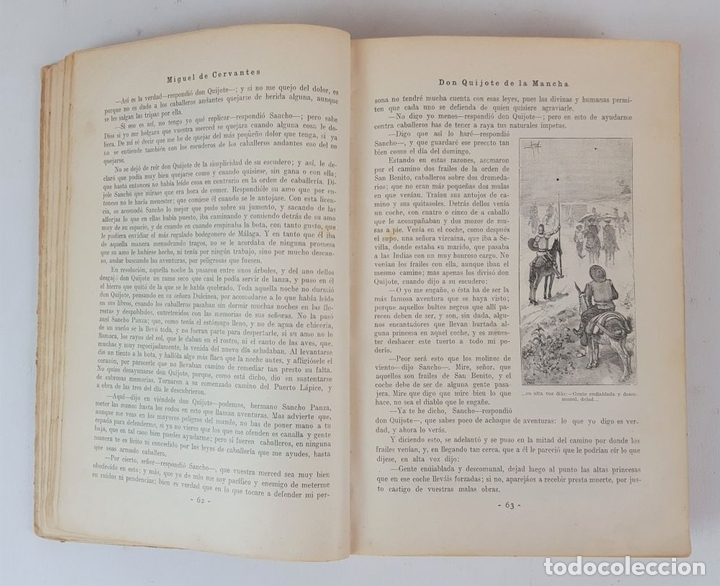 Libros antiguos: DON QUIJOTE DE LA MANCHA. MIGUEL CERVANTES. EDIT SATURNINO CALLEJA. MADRID. 1876. - Foto 4 - 127333139