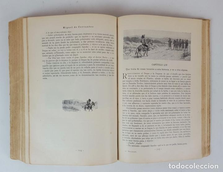 Libros antiguos: DON QUIJOTE DE LA MANCHA. MIGUEL CERVANTES. EDIT SATURNINO CALLEJA. MADRID. 1876. - Foto 8 - 127333139