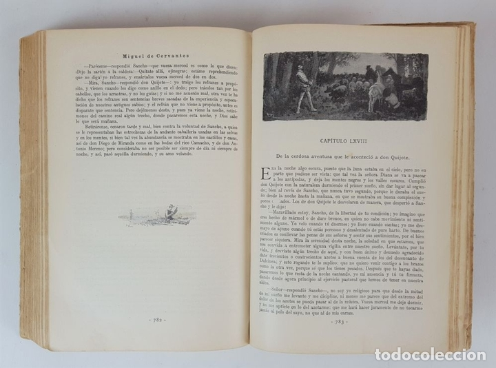 Libros antiguos: DON QUIJOTE DE LA MANCHA. MIGUEL CERVANTES. EDIT SATURNINO CALLEJA. MADRID. 1876. - Foto 9 - 127333139