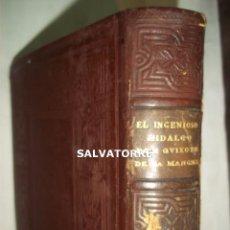 Libros antiguos: MIGUEL DE CERVANTES. EL INGENIOSO HIDALGO DON QUIJOTE. MONTANER Y SIMÓN. 1897.FACSIMIL,TOMO 2. Lote 127528427