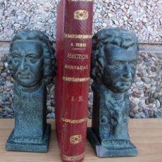 Libros antiguos: HECTOR SERVADAC. JULIO VERNE. COLECCION MUNDIAL. TOMO II. Lote 127654863