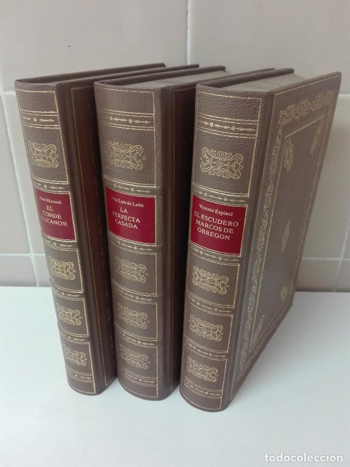 COLECCION DE CLASICOS CASTELLANOS EDICION LIMITADA Y NUMERADA DE 1499 EJEMPLARES MUY BUEN ESTADO (Libros antiguos (hasta 1936), raros y curiosos - Literatura - Narrativa - Clásicos)