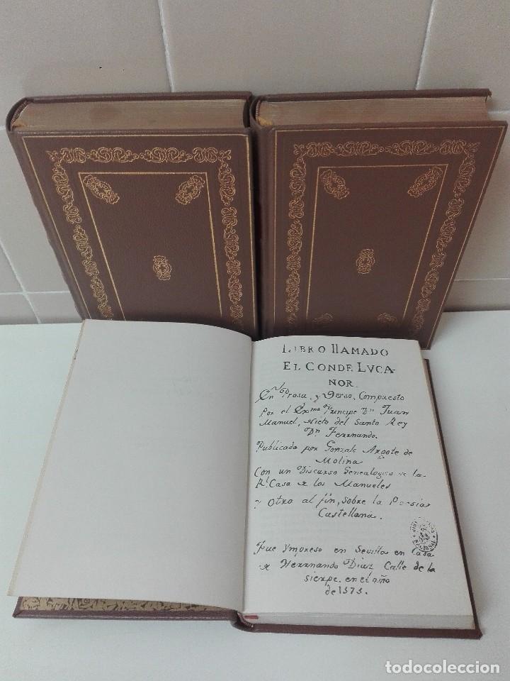 Libros antiguos: Coleccion de clasicos castellanos edicion limitada y numerada de 1499 ejemplares muy buen estado - Foto 2 - 127791803