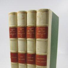 Libros antiguos: OEUVRES COMPLÈTES DE JACQUES JASMIN, BOYER D'AGEN, 1889, PARIS, BORDEAUX. 18X25,5CM. Lote 128003935