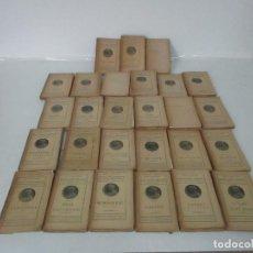 Libros antiguos: OBRES COMPLETES DE MOSSEN JACINTO VERDAGUER - EDICIÓN POPULAR - TOMO 1 AL 27 - AÑO 1910. Lote 128302655