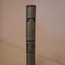 Libros antiguos: JOSÉ ZORRILLA. TRES OBRAS TEATRALES. AGUILAR. CRISOL 177.. Lote 128389811